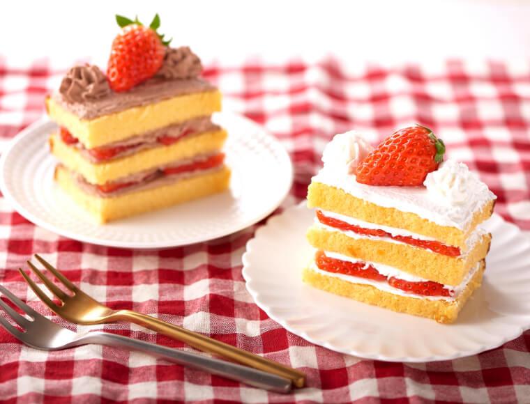カステラショートケーキ