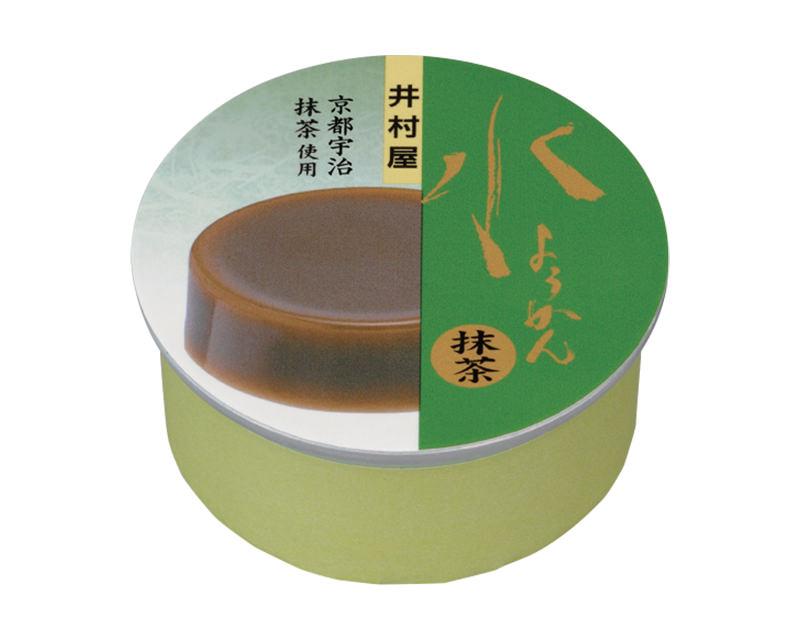 缶水ようかん 抹茶
