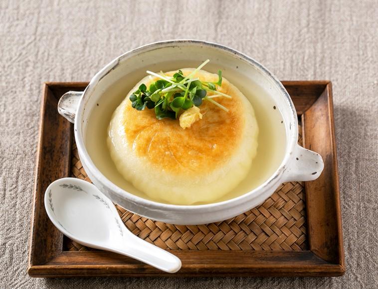 中華風大豆ミートまんスープ