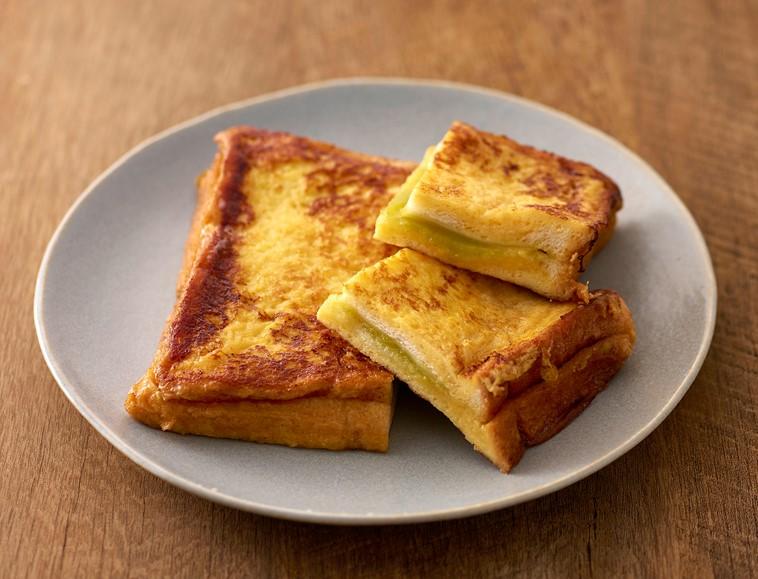 枝豆あんチーズサンドフレンチトースト