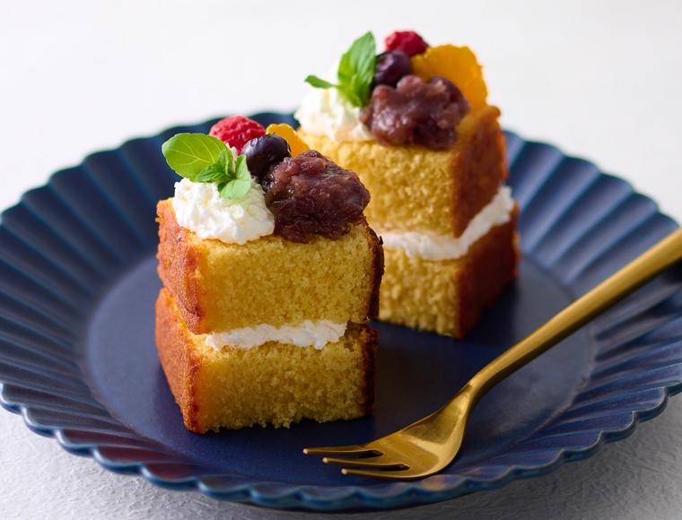 カステラのプチケーキ